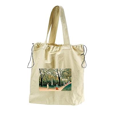 The Dream (Henri Rousseau) Canvas Drawstring Beach Tote Bag