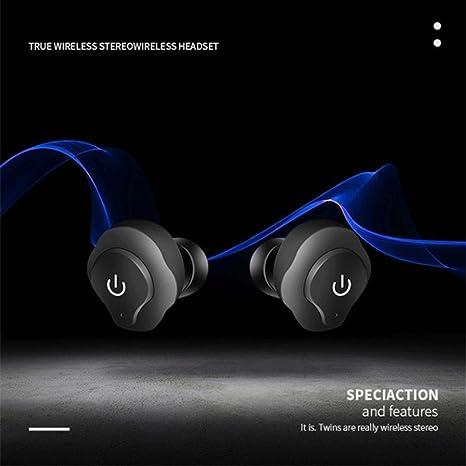 Elegante Sport auriculares inalámbricos Bluetooth, Y56 Mini Gemelos bluetooth4.2 inalámbrico auriculares in-