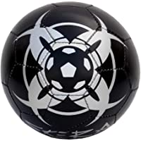 Football Thunder PVC White Black, Silver Size 3