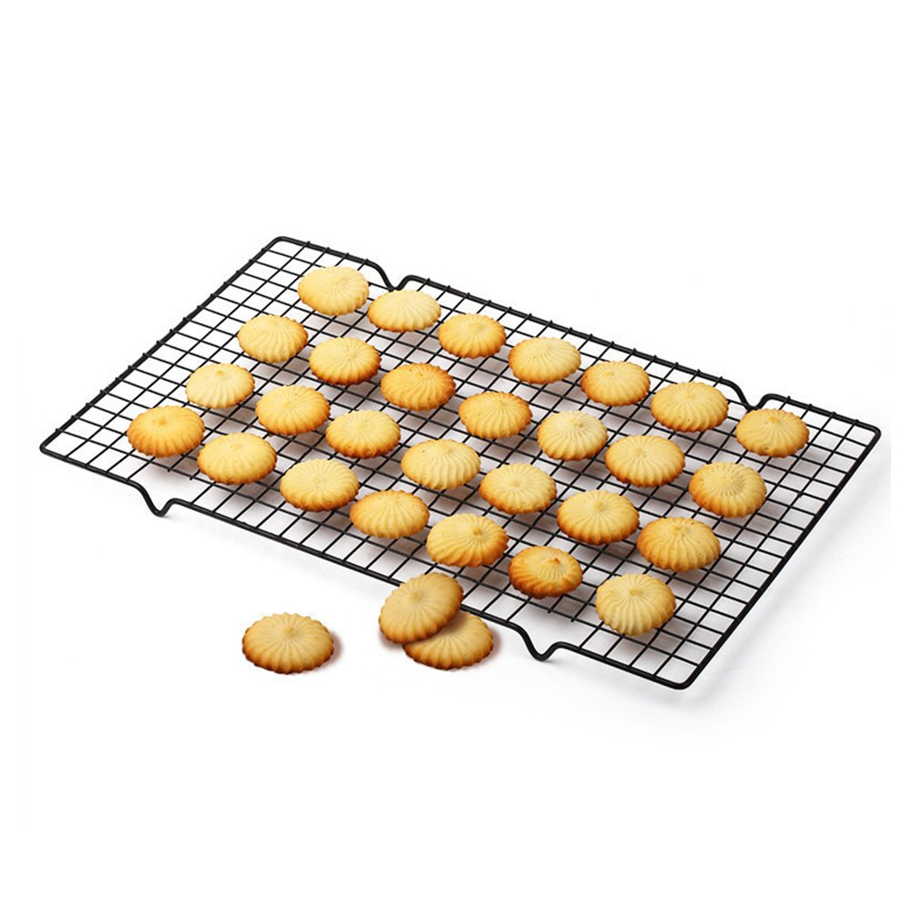 Moyad Cooling Rack Nonstick Baking Rack Heavy Duty Wire Grid Pan for Cookies Bread Cupcakes, 16 x 10 Inch