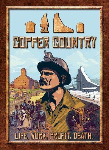 Copper Country Board Game by CMX Games