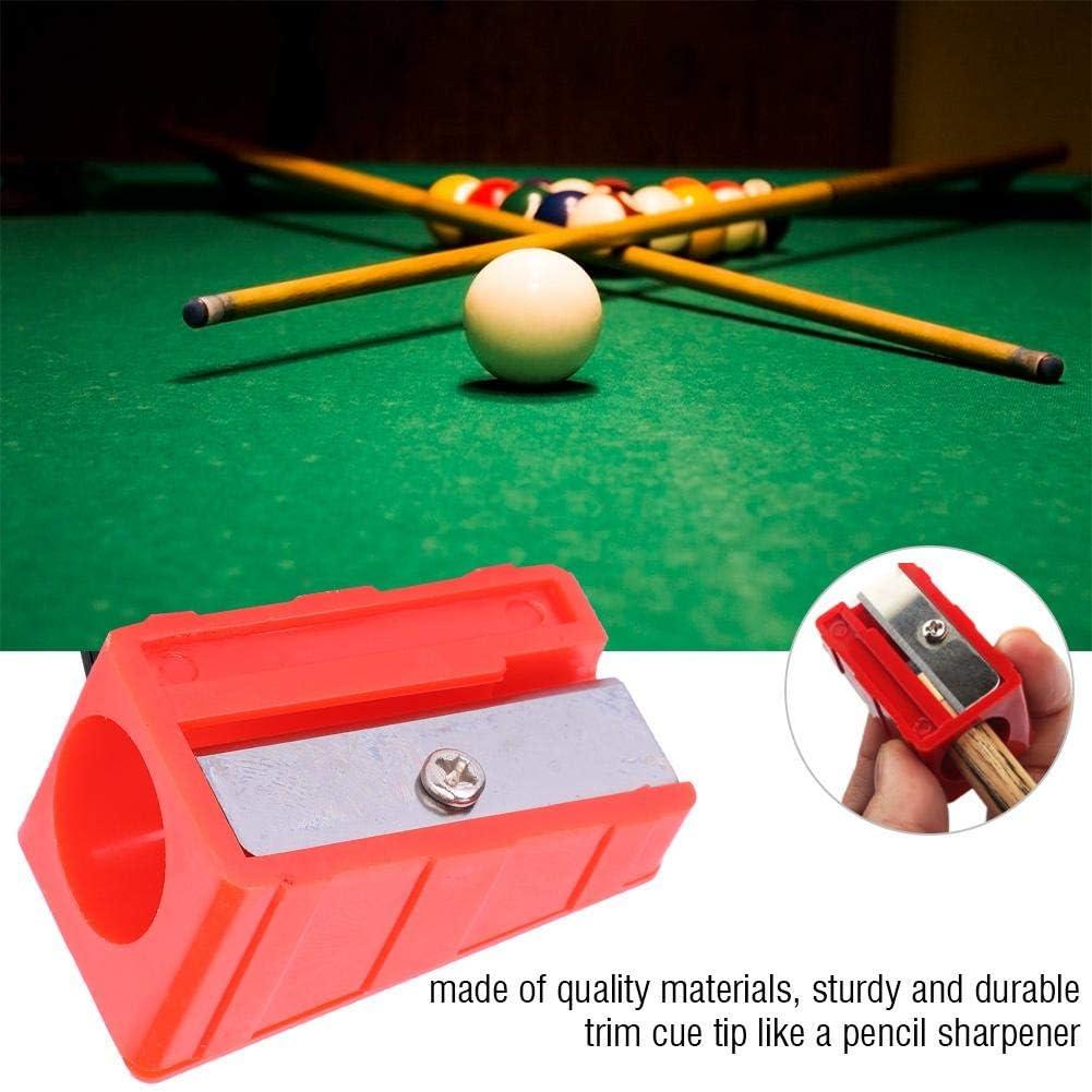 Recortador de Punta de Señal Snooker Cue 3pcs Forma de Lápiz Portátil para Billar (Negro): Amazon.es: Deportes y aire libre