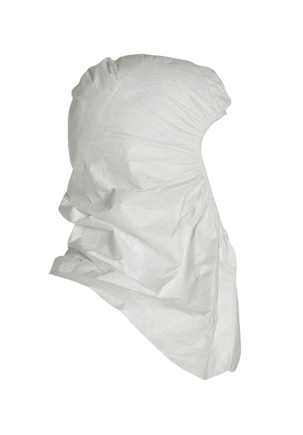 Pack of 100 TY657SWH00010000 DuPont Tyvek TY657S Pullover Hood Universal Size White