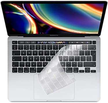 ProElife Funda para teclado para MacBook Pro de 16 pulgadas 2019, ultra delgada, de TPU, para MacBook Pro de 16 pulgadas con Touch Bar/Touch ID A2141 ...