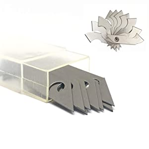 YouU 1 Acrylic Cutter and 10 Pcs Blade Set, Multi-Use Cutter with Cutting Blade