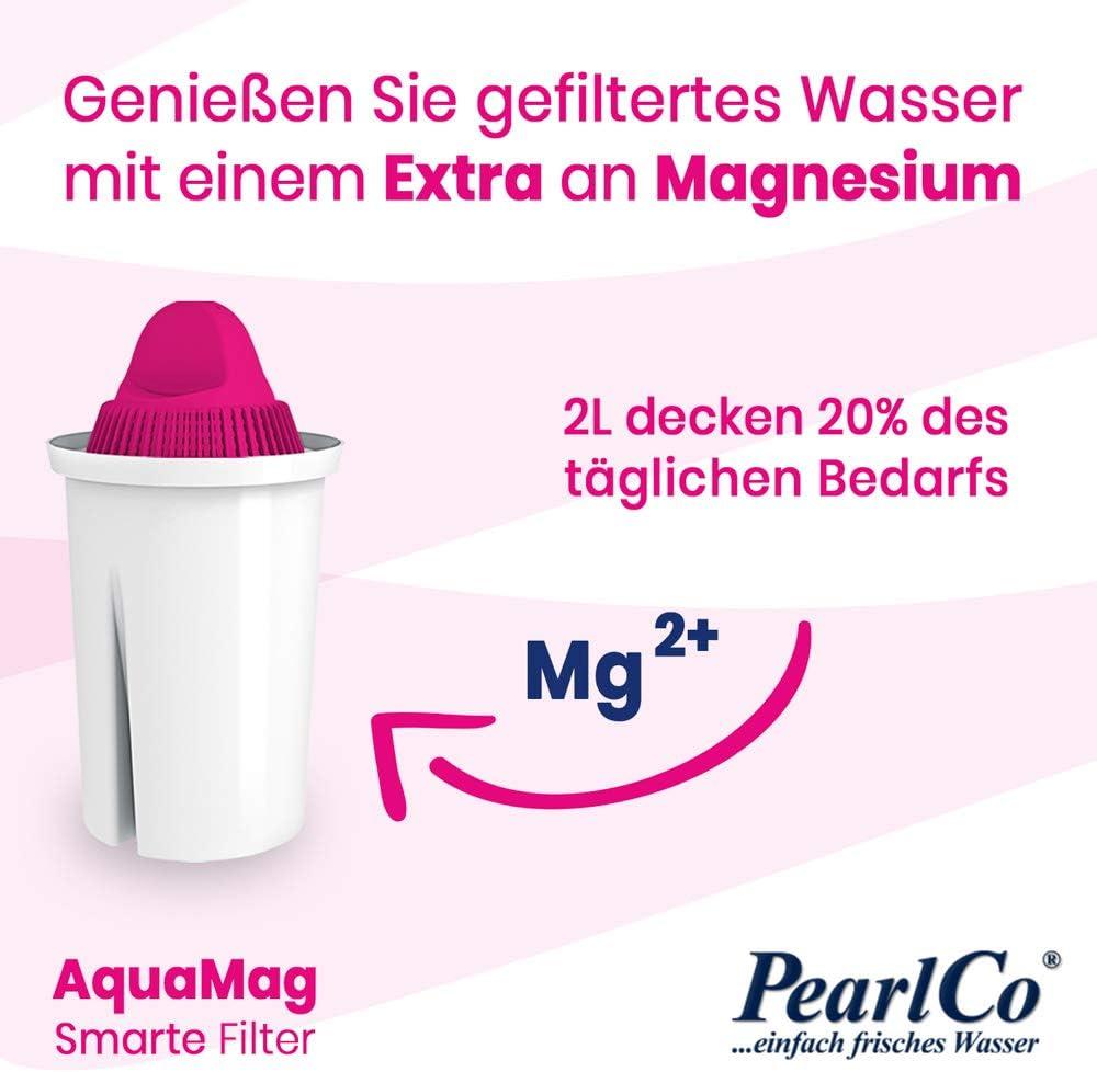 Confezione 6 filtri per Aqua PearlCo Classic Compatibile Brita/® Classic