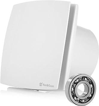 Hon&Guan 150mm Ventilador Extractor de Aire Silencioso 201m³/h para Oficina, Baño, Dormitorio: Amazon.es: Hogar