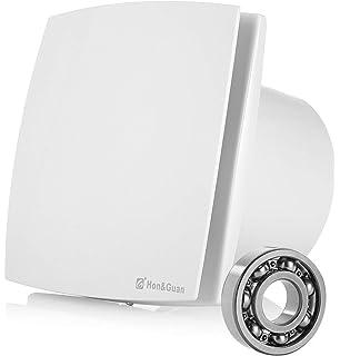 HG Power 150mm Ventilador Extractor de Aire Silencioso 201m³/h para Oficina, Baño, Dormitorio: Amazon.es: Bricolaje y herramientas