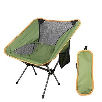 AOHMG Portátil Sillas de Camping Plegables, Compacto ...