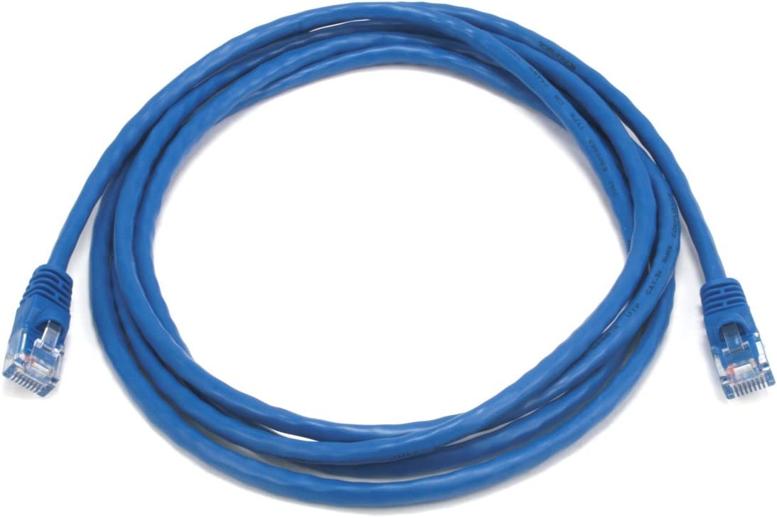 Monoprice 7FT 350MHz UTP Cat5e RJ45 Network Cable Purple