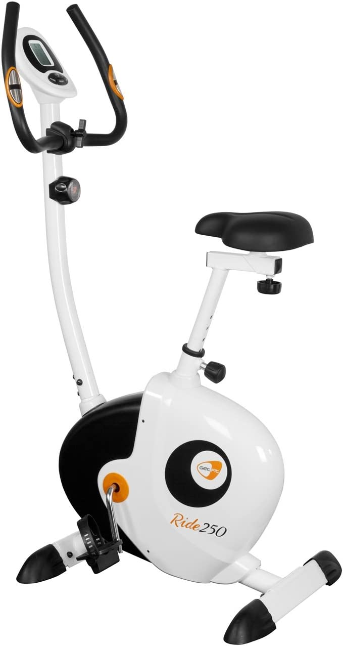 GETFIT Ride 250 Cyclette Home Bike - La inercia de peso: 7kg ...