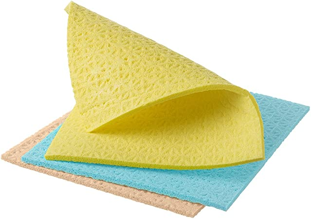 4x Spontex Sponge Cloth Classic 5-er Pack Topp Rice MEGA SAVING PACK 20 Sheets!!