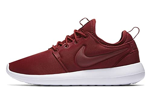 Zapatillas Nike Roshe Two de mujer nuevas (7.5, Dark Cayenne / White)