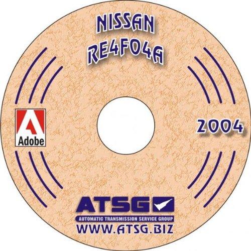 ATSG Nissan RE4F04A Techtran Transmission Rebuild Manual