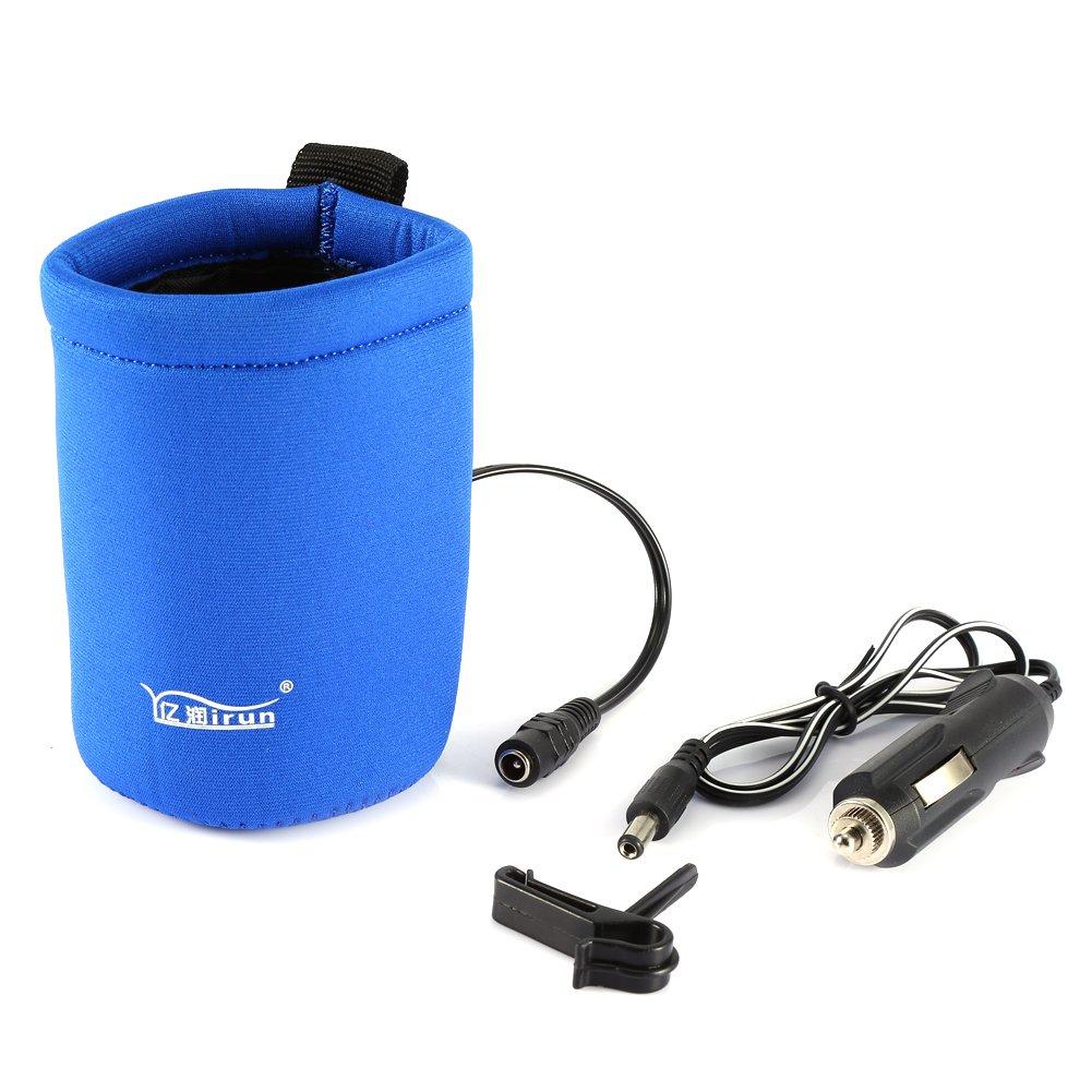 Baby Bottle Warmer, ZJchao 12V Portable Travel Car Milk Water Bottle Cup Warmer Heater Pouch