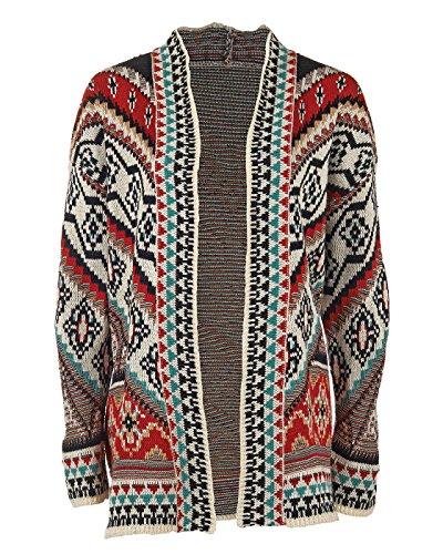 Blanket Coat (Coco + Carmen Women's Nomad Blanket Coat Multicolor L/XL)