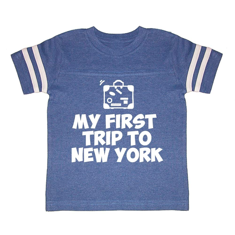 My First Trip to New York Toddler//Kids Sporty T-Shirt