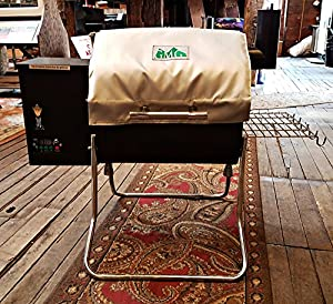 Green Mountain Grills Davy Crockett Thermal Blanket,gray GMG 6012 made by  legendary Green Mountain Grills