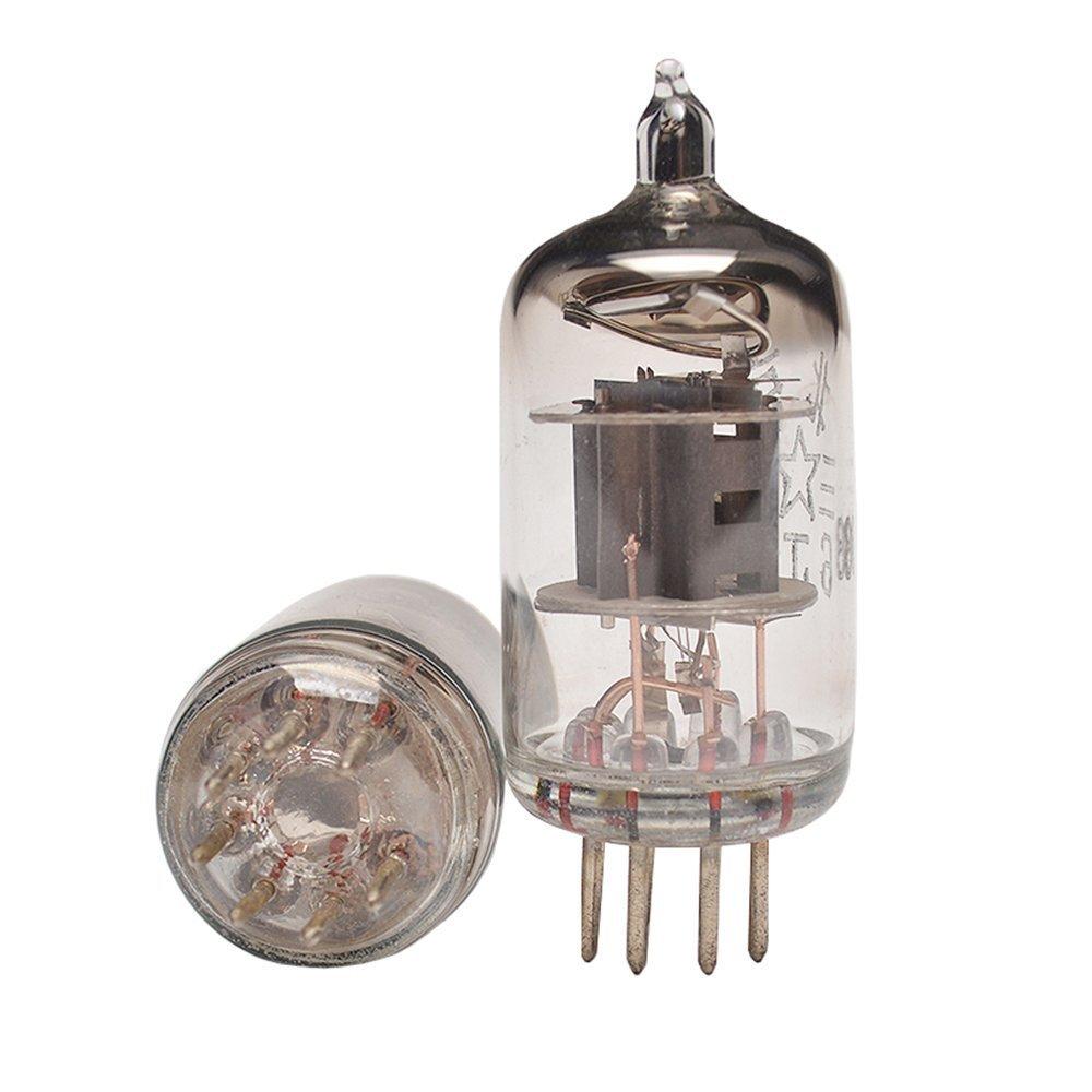 Dilvpoetry TUBE-01 Preamp Vacuum Tube Amplifier Buffer 6J1 Mini Hifi Preamplifier DC12V2A (Black) by Dilvpoetry
