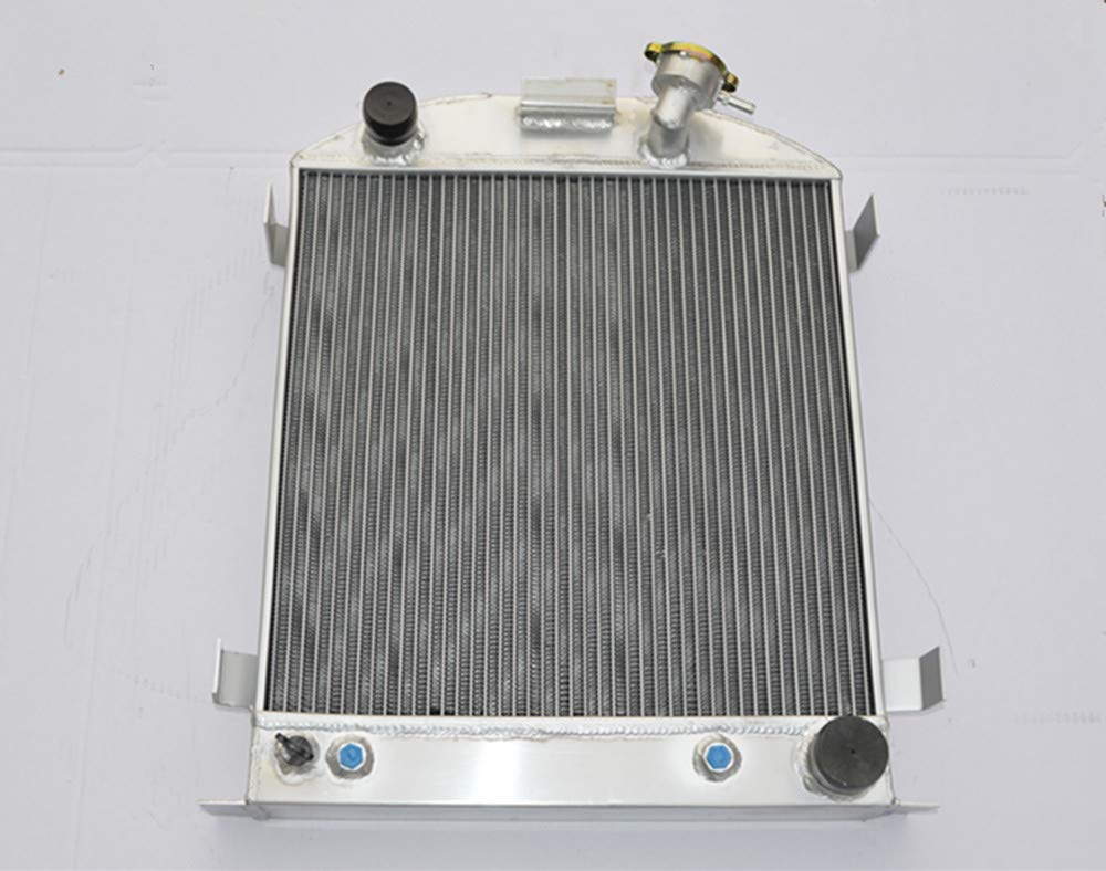 62mm 3 ROW For Ford 1932 hot rod w//Chevy 350 V8 engine aluminum radiator AT//MT
