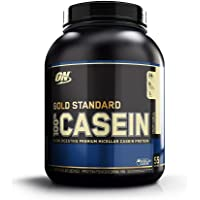 Optimum Nutrition Gold Standard Creamy Vanilla 4 Pound 100% Micellar Casein Protein Powder