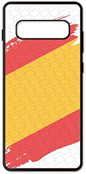 PHONECASES3D Funda móvil España Bandera para Compatible con Samsung Galaxy S10 Plus. Carcasa de TPU de Alta protección. Funda Antideslizante, Anti choques y caídas.: Amazon.es: Electrónica