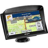 Desgan Car GPS Navigation, 7 inch 8G Bluetooth Car HD Touch Screen Navigation, Driving Alarm, Voice Navigation, Lifetime Map Update