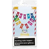Rainbow Birthday Cake Bunting Topper