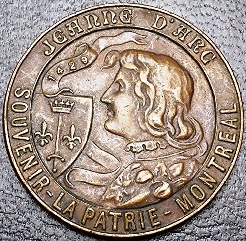 Scarce Token - Unbranded SCARCE MONTREAL QUEBEC JEANNE D'ARCCARON FRERES TOKEN LA PATRIE NUMBERED