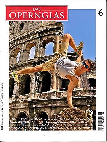 Opernglas 6 2016 Jakub Jozef Orlinski Zeitschrift Magazin