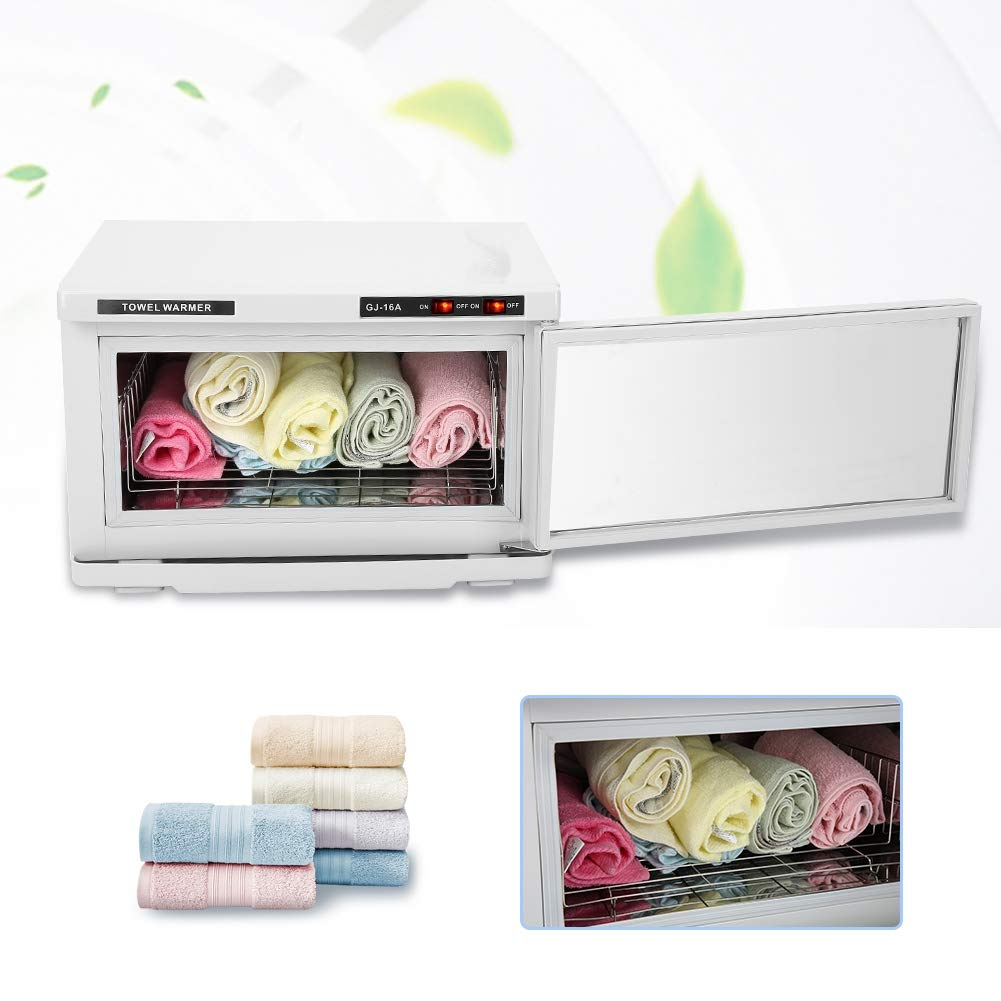 scatola di disinfezione per asciugamani e biberon e strumenti per manicure Armadio di Sterilizzatore Estetica UV 16L Grande Capacit/à