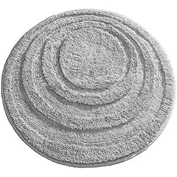 Large Bath Mats And Rugs Crochet Round Bath Rug, Thick Plush White Cotton Bath  Mat, Rag Rug