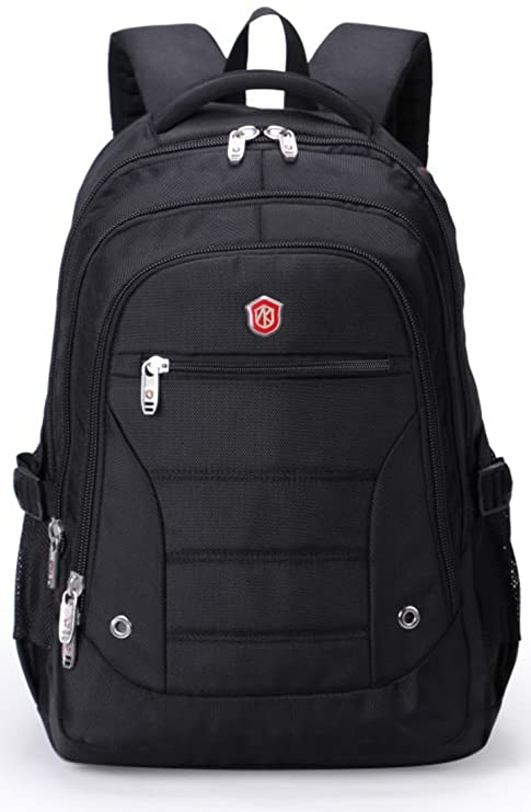 cd2353f55e30 Aoking 15.6 Polyester Laptop Backpack School Bag Black Colour ...