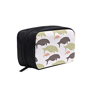 Amazon com : Seals And Manatees Silhouette Waves Portable Travel