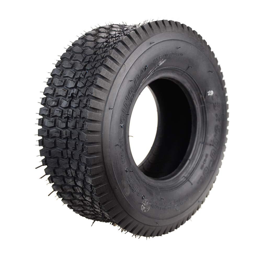 GOOFIT 2 ST/ÜCKE 13X5.00-6 Gebogene Stem Rohr Reifen F/ür Elektrische Old Man Roller /…