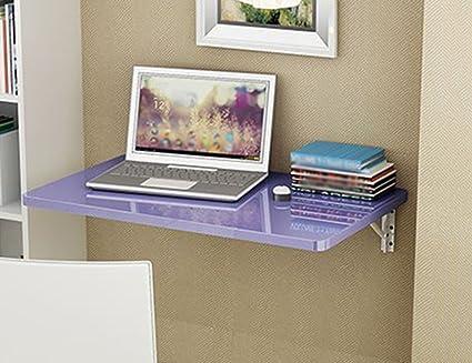 Set Da Scrivania Viola : Ymxljf scrivania computer a parete tavolo da pranzo pieghevole