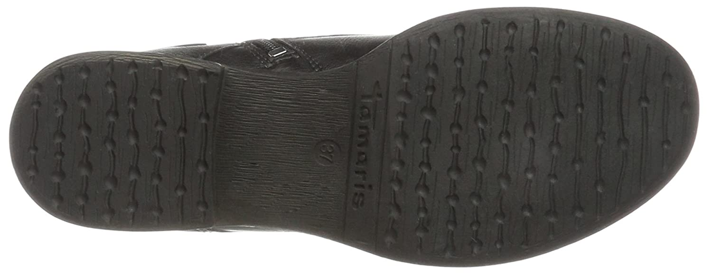 Tamaris Damen Damen Tamaris 25140 Combat Stiefel Schwarz (schwarz) d7d7f8