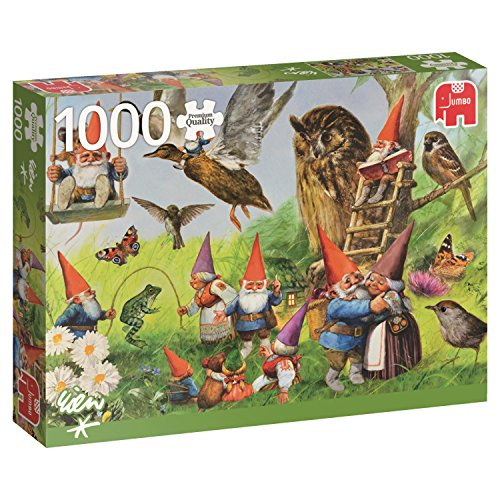Jumbo in the Forest with the Gnomes Jigsaw Puzzle (1000 Piece)