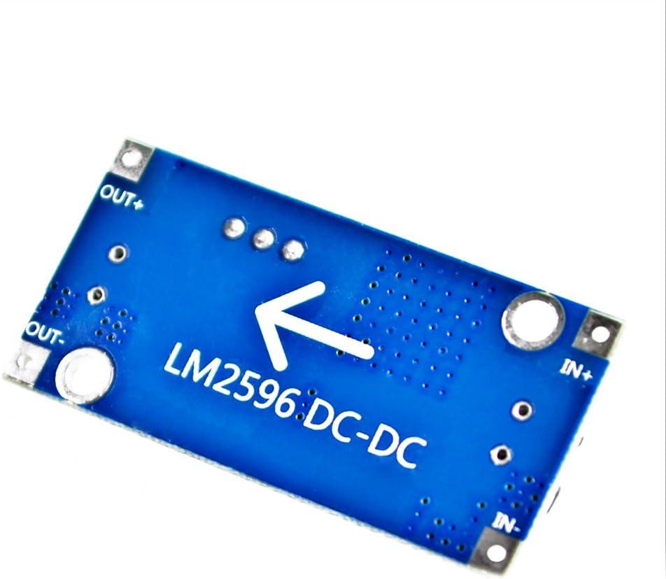 Fablcrew LM2596 LM2596S DC-DC Converter 3,0-40V bis 1,5-35V Verstellbarer Stromversorgung Modul 1 St/ück