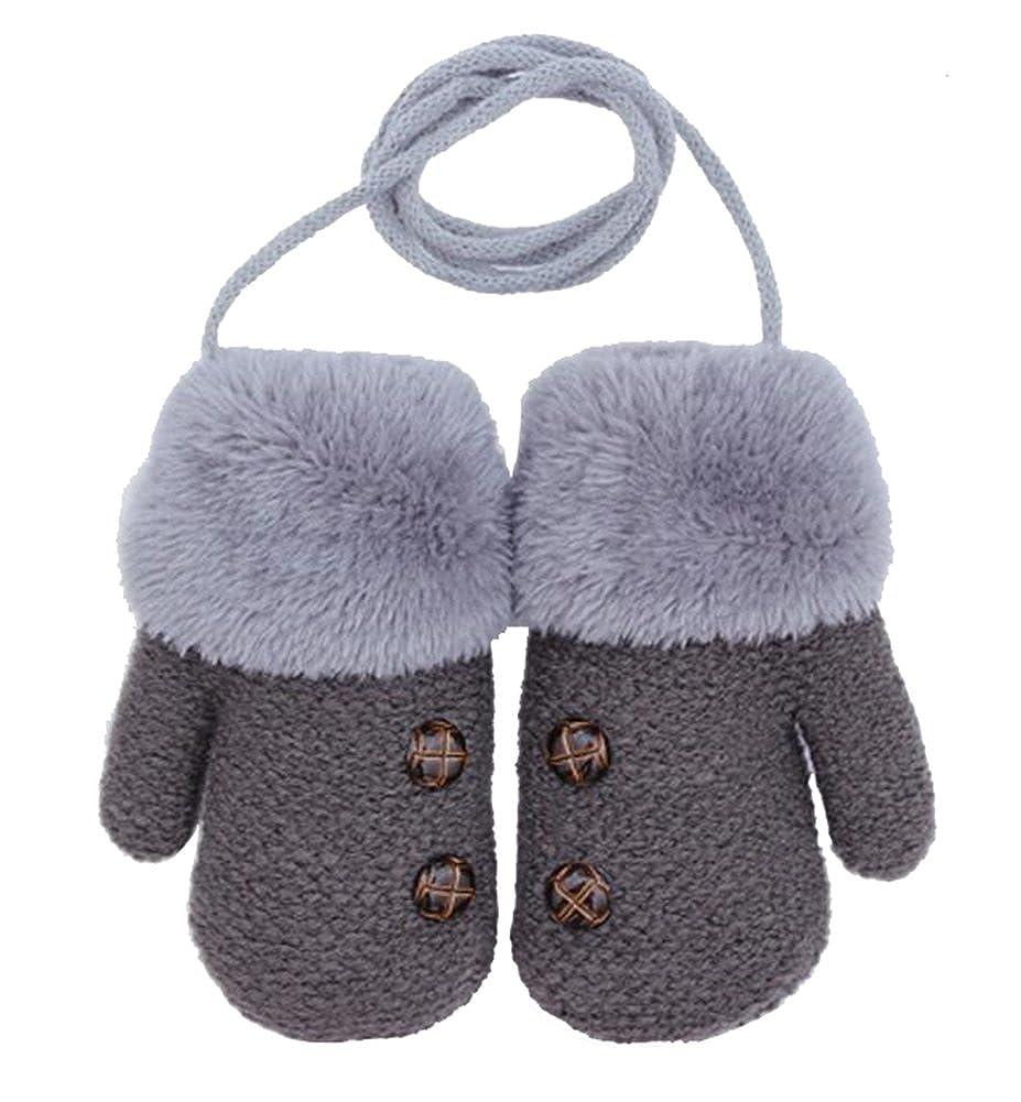 Dorapocket Cute Kids Gloves Baby Knitted Gloves Children Warm Mittens