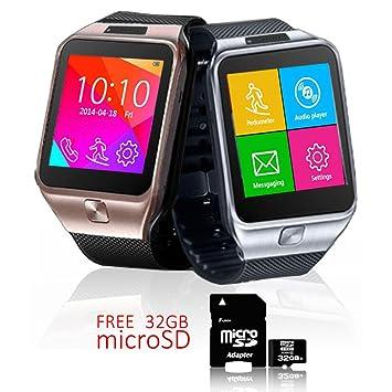 Indigi® Android 4.4 SmartWatch + teléfono + WiFi + Bluetooth ...