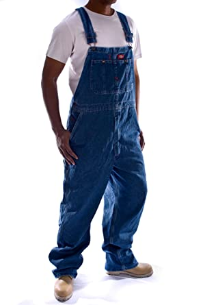 57b94fe4342 Dickies Men s LatzTrousers Indigo Bib Overall  Amazon.co.uk  Clothing