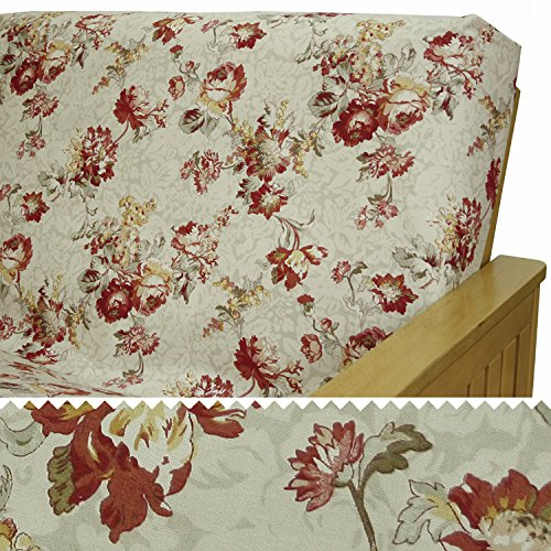 Futon Venice (Venice Oyster Futon Cover Queen 5pc Pillow set 301)