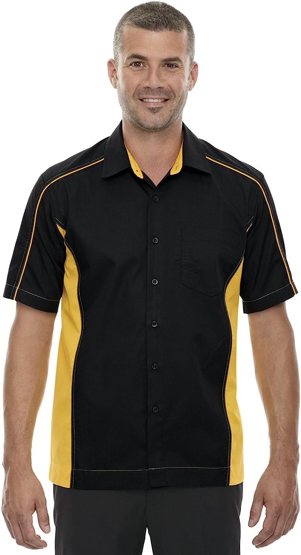 Ash City North End North End Mens Fuse Colorblock Twill Shirt