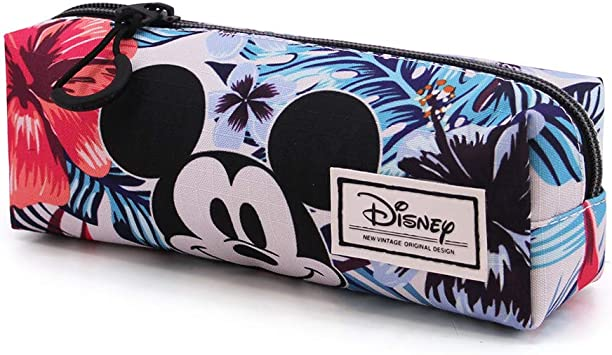 Karactermania Mickey Mouse Edén - Estuche Portatodo Triple HS Cuadrado, Multicolor: Amazon.es: Equipaje