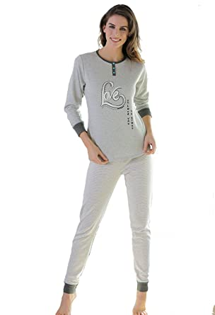 "Massana - Women Pyjamas Winter ""Love"" ..."