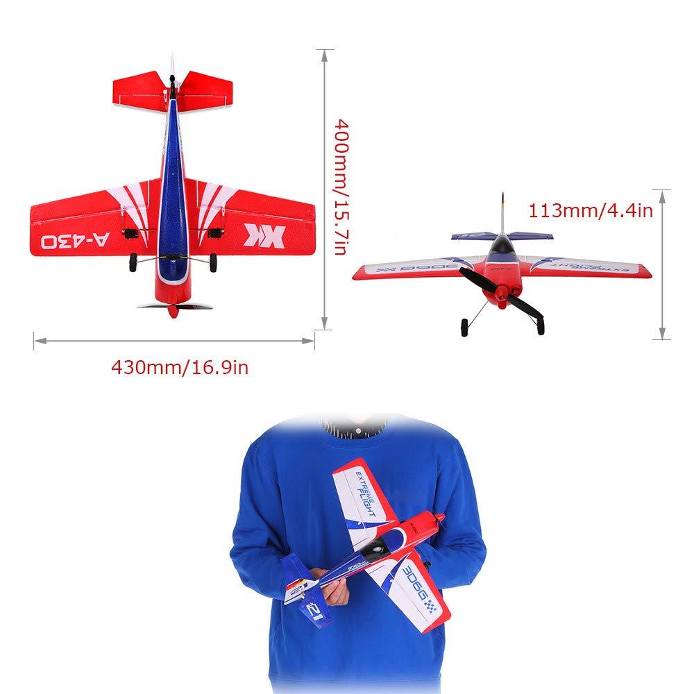 QHJ Wltoys A430 2,4G Radio 3D6G Mini Fernbedienung RC Radio 2,4G Flugzeug Drone Flugzeug 7794f1