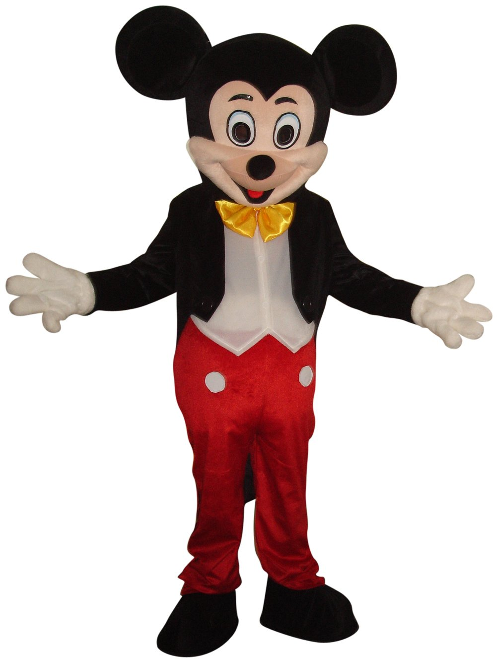 New Mickey Mouse Mascot Costume Adult Size Halloween Party Birthday by DealFashion