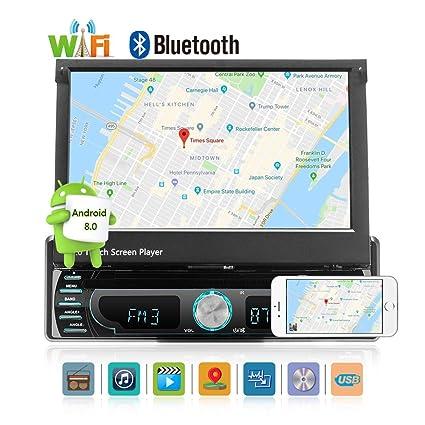 Androide 8,0 coche radio estéreo de audio 7,0