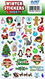 Best Sticker Decals For Holiday Christmas - Winter Holiday Christmas Sticker Sheets, 200 Stickers, Assortment Review
